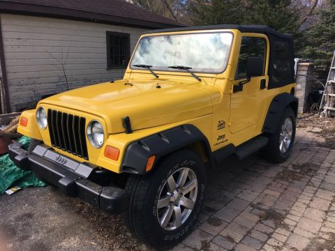 new top 2001 Jeep Wrangler offroad for sale