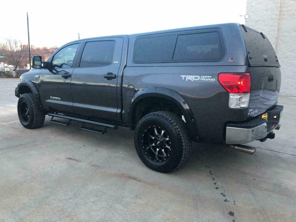 nicely modified 2011 Toyota Tundra TRD SuperCharged offroad