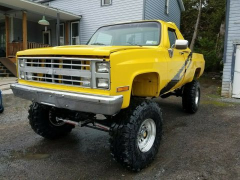 restored 1985 Chevrolet C/K Pickup 2500 K10 offroad for sale