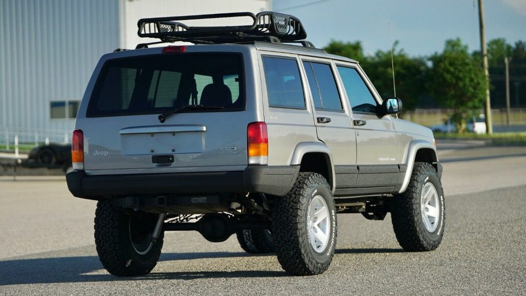 serviced 2001 Jeep Cherokee DAS Stage 2 offroad
