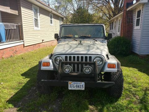 solid 2001 Jeep Wrangler offroad for sale