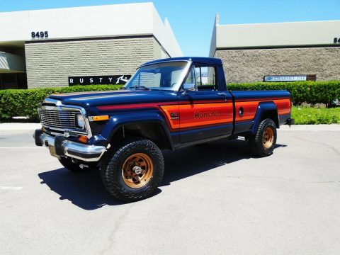 beautiful 1982 Jeep J10 Honcho pickup offroad for sale