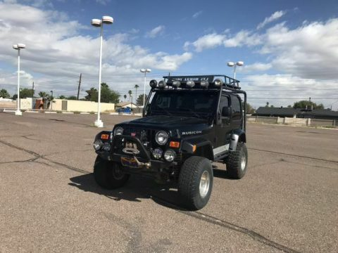 clean 2003 Jeep Wrangler Rubicon Sport Utility offroad for sale