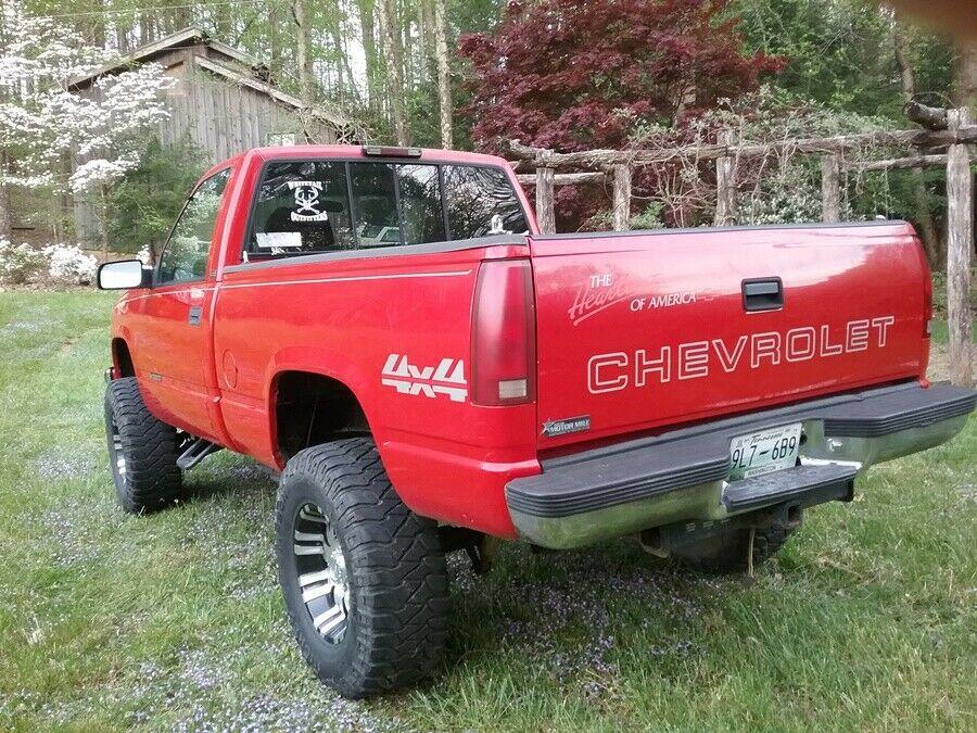 custom lifted 1996 Chevrolet C/K Pickup 1500 offroad
