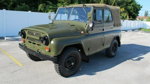low miles 1989 UAZ 469 offroad for sale