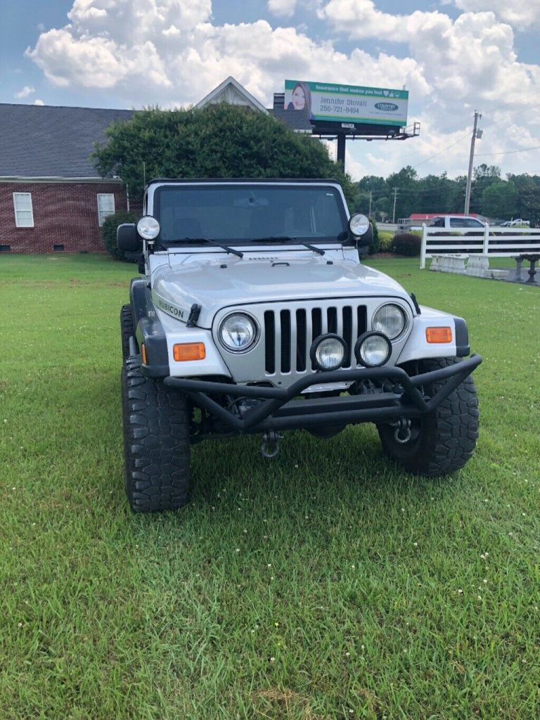 rust free 2003 Jeep Wrangler offroad