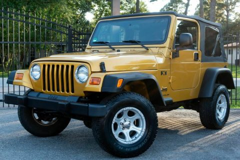 very clean 2003 Jeep Wrangler X offroad for sale