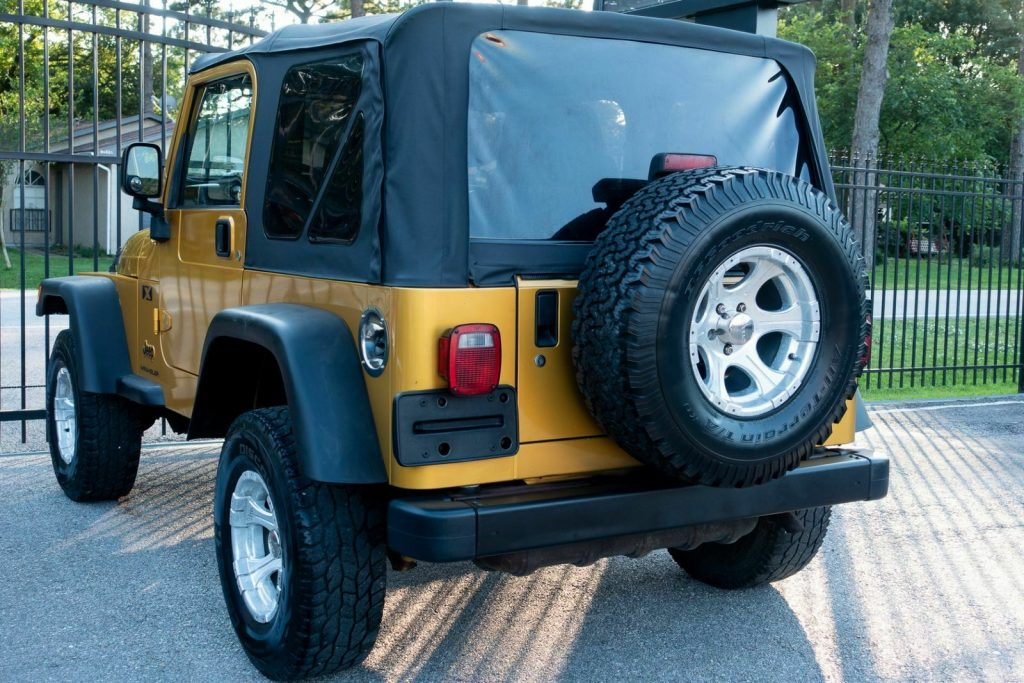 very clean 2003 Jeep Wrangler X offroad