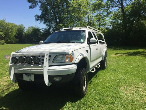 well upgraded 2002 Ford F 150 pickup offroad for sale