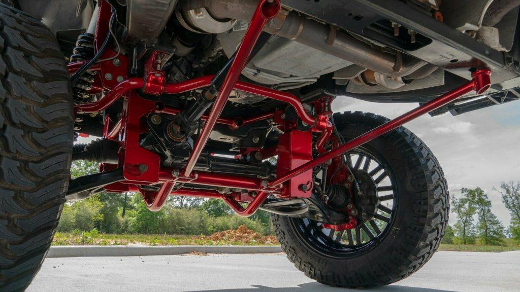 badass 2015 Ford F 150 Lariat offroad