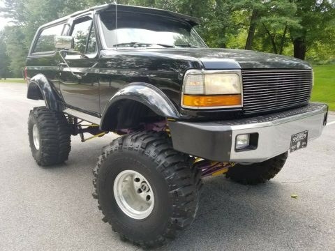 custom 1993 Ford Bronco XLT offroad for sale