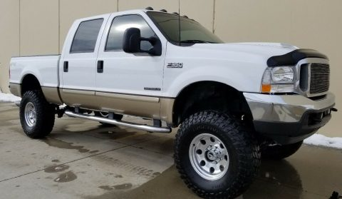 excellent shape 2001 Ford F 350 Lariat Leather Package offroad for sale