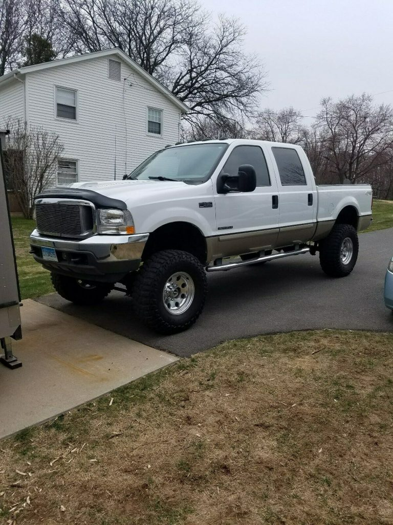 excellent shape 2001 Ford F 350 Lariat Leather Package offroad