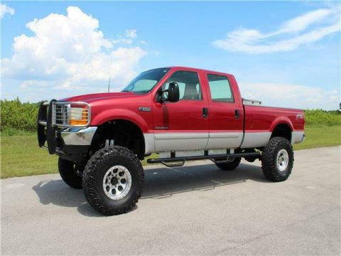 great shape 2001 Ford Super Duty F 250 XLT pickup offroad for sale