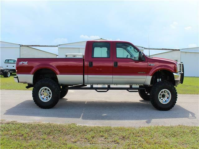 great shape 2001 Ford Super Duty F 250 XLT pickup offroad