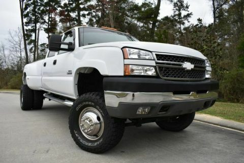great shape 2005 Chevrolet Silverado 3500 DRW LS offroad for sale