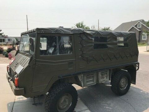 very nice 1974 Pinzgauer all Terrain Utility vehicle offroad for sale