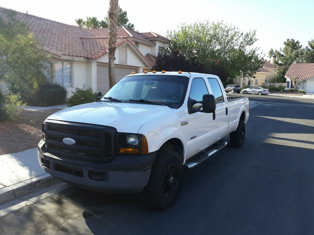 excellent running 2006 Ford F 250 XL offroad