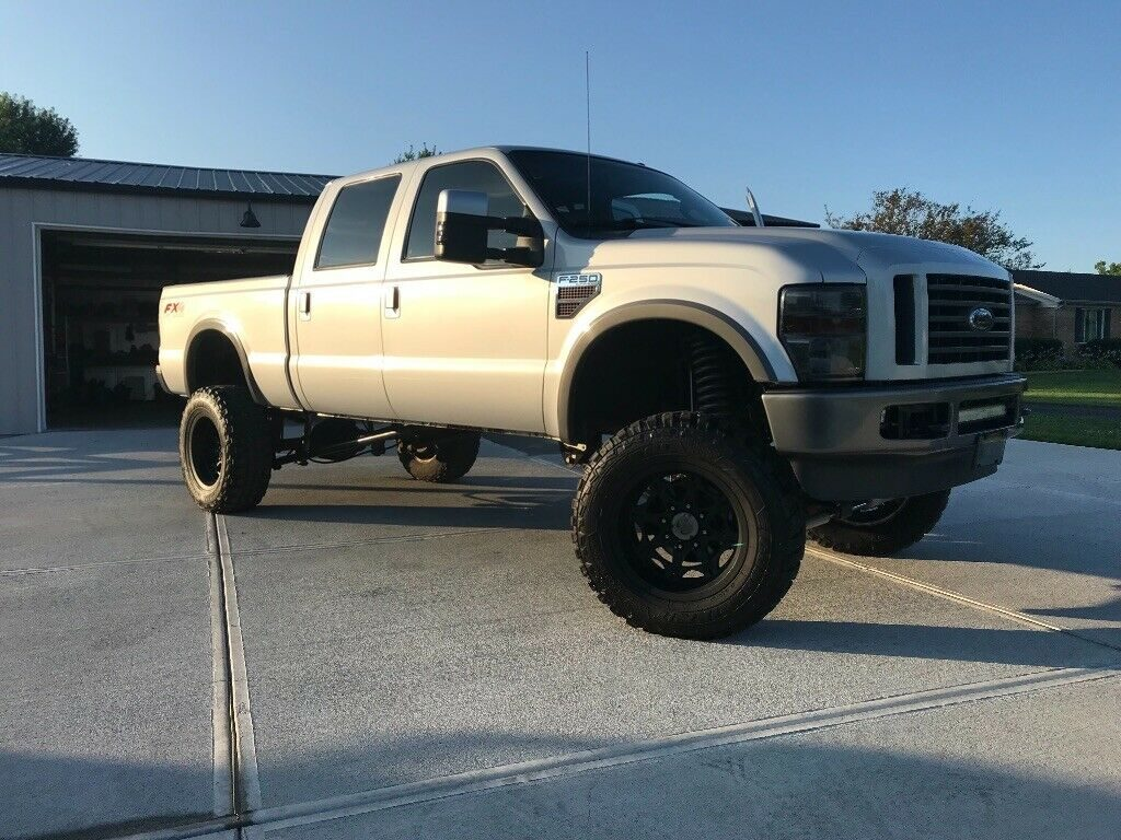 very nice 2008 Ford F 250 FX4 offroad