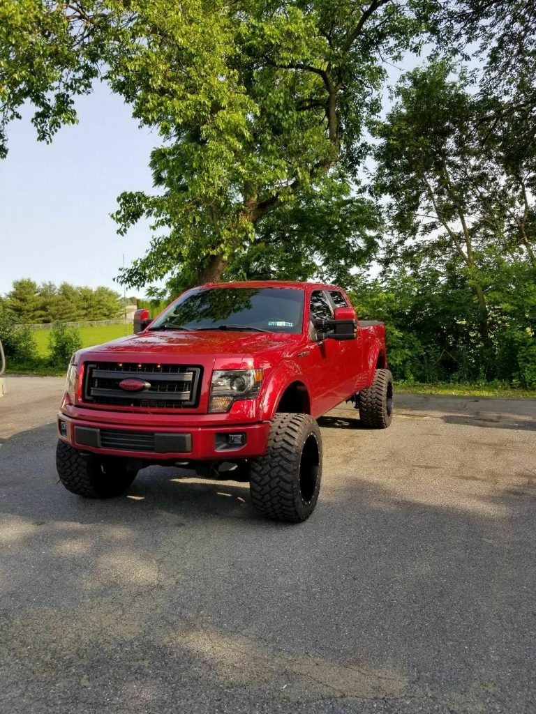 lots of mods 2013 Ford F 150 Fx4 offroad