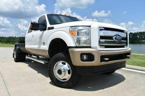 very clean 2012 Ford F 350 King Ranch offroad for sale