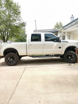 well upgraded 2013 Ford F 250 Lariat Performance offroad for sale