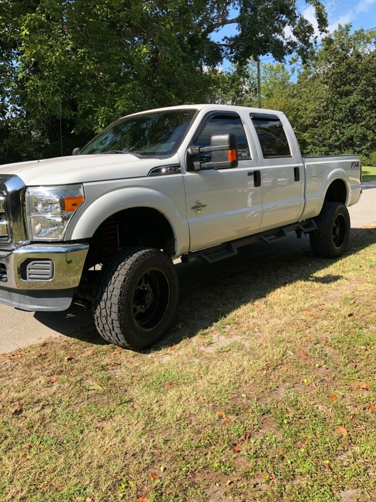 great running 2014 Ford F 250 Xlt offroad