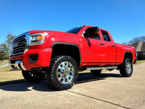 lifted 2015 GMC Sierra 2500 offroad for sale