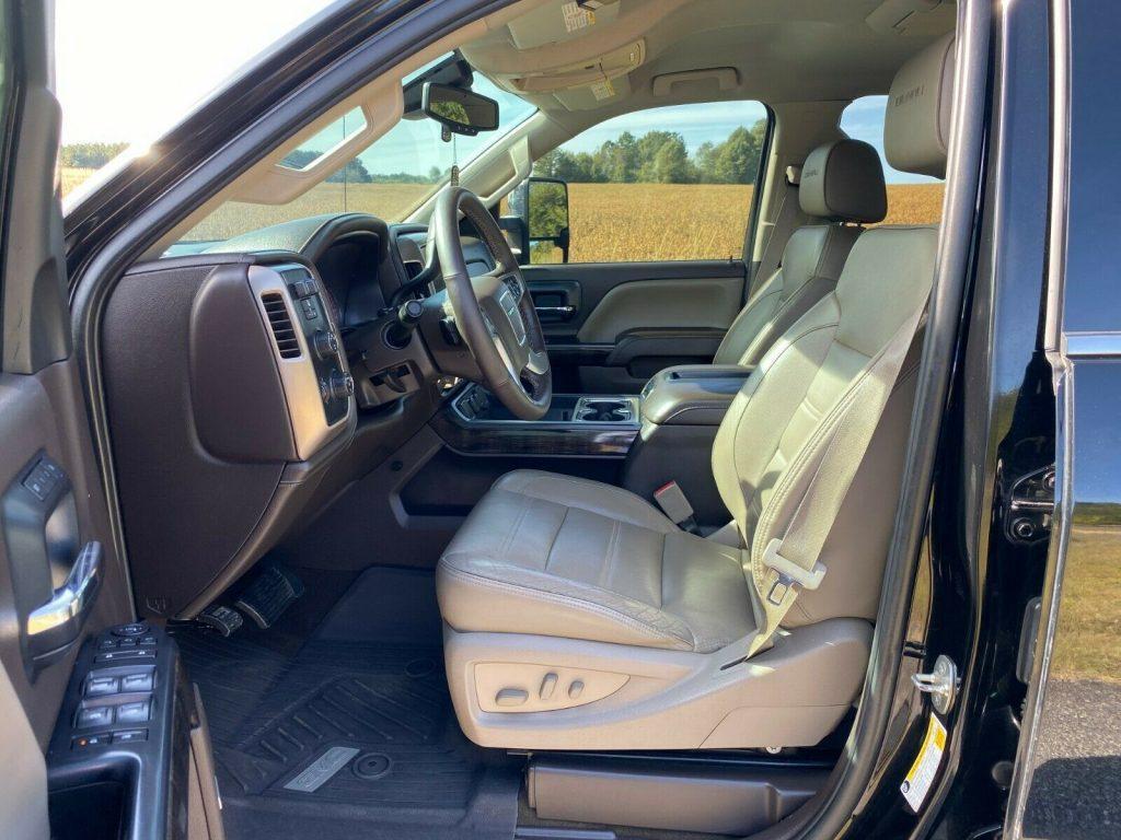 loaded 2015 GMC Sierra 2500 Denali offroad