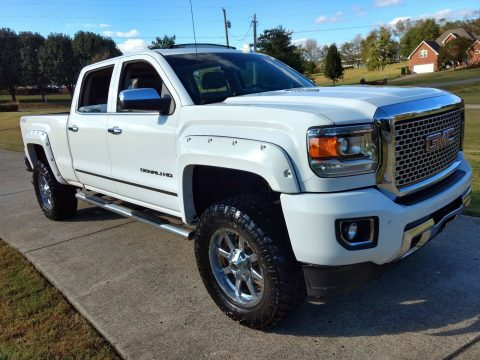 well equipped 2015 GMC Sierra 2500 Denali HD offroad for sale