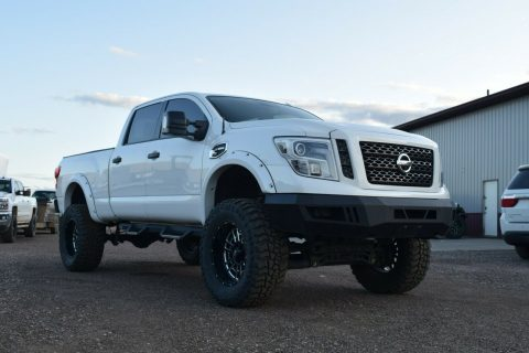 well modified 2016 Nissan Titan Pro4X offroad for sale