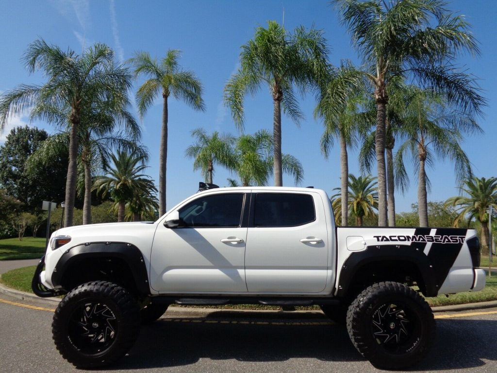 awesome beast 2017 Toyota Tacoma offroad