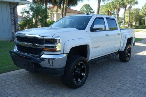 clean 2016 Chevrolet Silverado 1500 American Luxury Coach offroad for sale