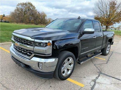 low miles 2017 Chevrolet Silverado 1500 LTZ offroad for sale