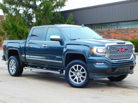 low miles 2017 GMC Sierra 1500 Denali Edition offroad for sale