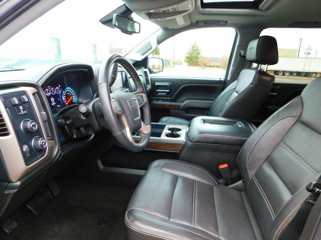 low miles 2017 GMC Sierra 1500 Denali Edition offroad for sale