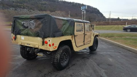 strong running 1986 Hummer Humvee 998 offroad for sale