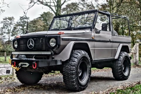 upgraded 1988 Mercedes Benz G Class offroad for sale