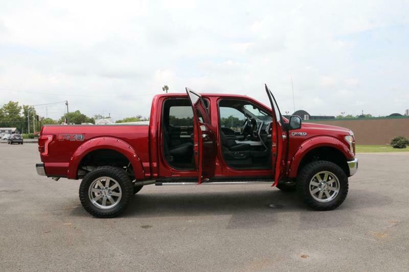 very low miles 2016 Ford F 150 Lariat Supercrew offroad