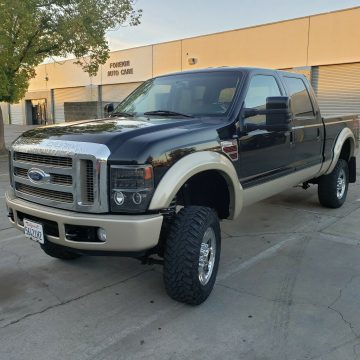 great working 2008 Ford F 350 King Ranch offroad for sale
