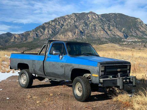 modified 1985 Chevrolet C/K Pickup 2500 Custom Deluxe offroad for sale