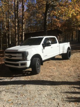 modified 2019 Ford F 350 Lariat Dually offroad for sale