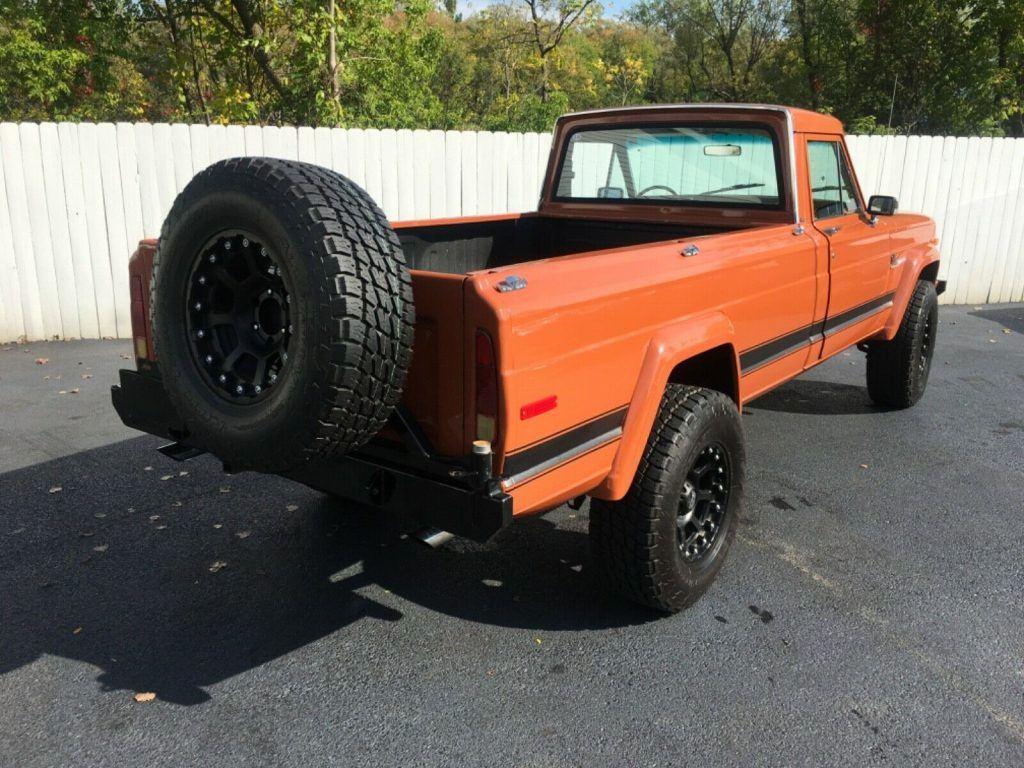 sharp 1980 Jeep Comanche offroad