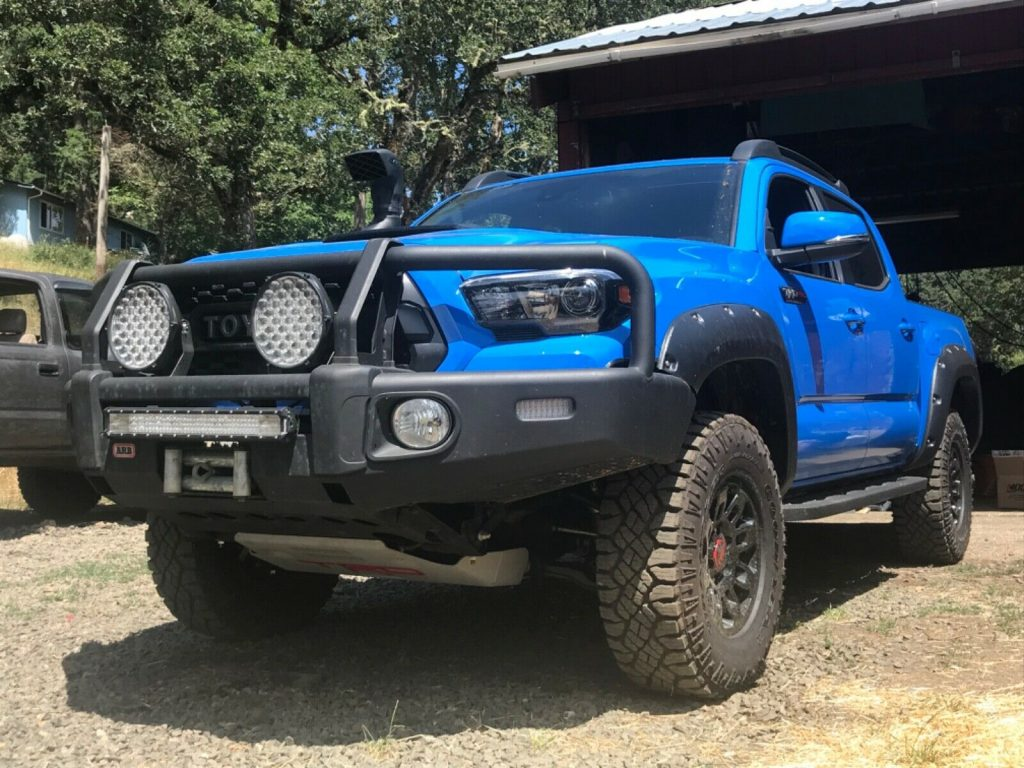 well modified 2019 Toyota Tacoma TRD Pro offroad