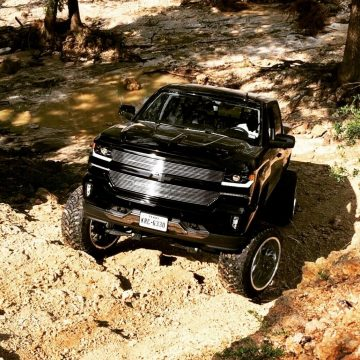 low miles 2018 Chevrolet Silverado 1500 LTZ custom offroad for sale