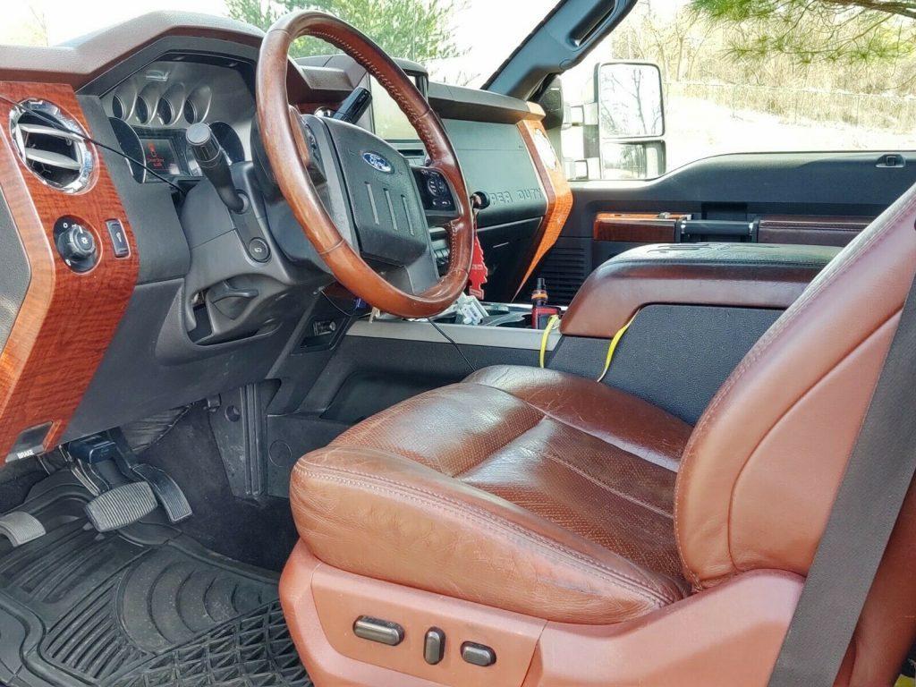custom 2013 Ford F 350 Super DUTY king ranch offroad