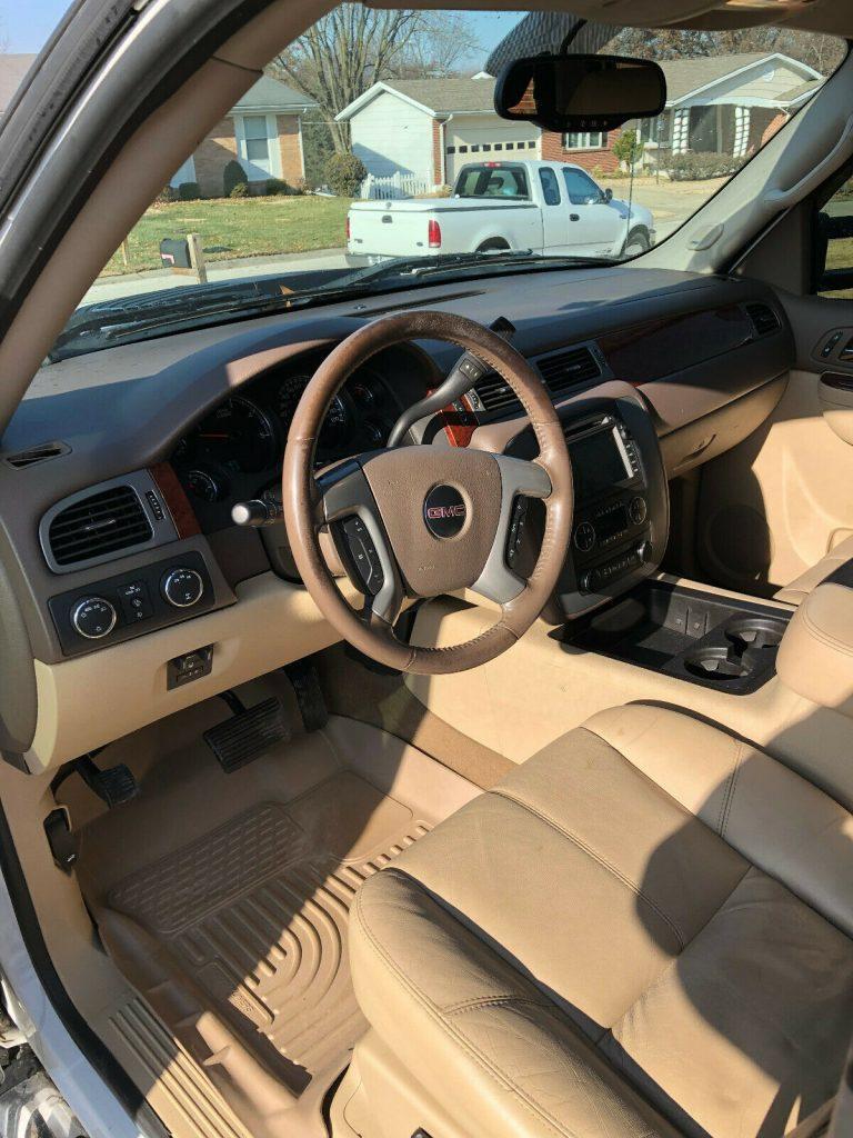 loaded 2011 GMC Sierra 3500 K3500 SLT offroad