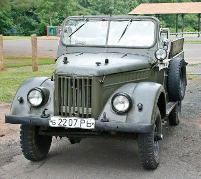 low miles 1957 GAZ 69 offroad for sale