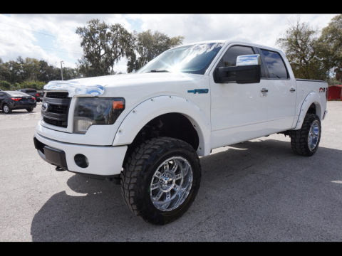 nice and clean 2013 Ford F 150 XLT Supercrew offroad for sale