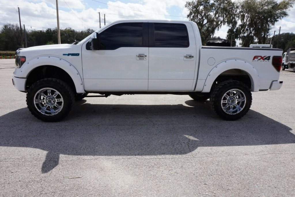 nice and clean 2013 Ford F 150 XLT Supercrew offroad